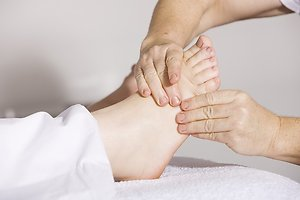 About Reflexology. Second toe picture